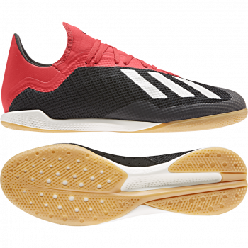 good selling hot product outlet for sale ADIDAS Predator 18.3 IN Hallenschuhe schwarz/weiß/rot