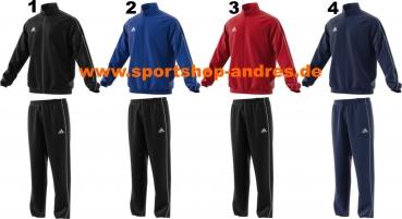 Adidas Core 18 Präsentationsanzug 116 164