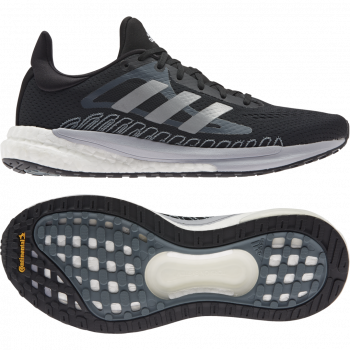 Adidas Solar Glide 3 women Laufschuhe Core Black / Blue Oxide / Dash Grey