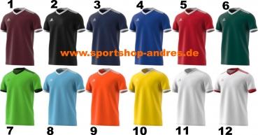 Adidas Tabela 18 Trikot kurzarm in 12 Farben Gr. 116 164