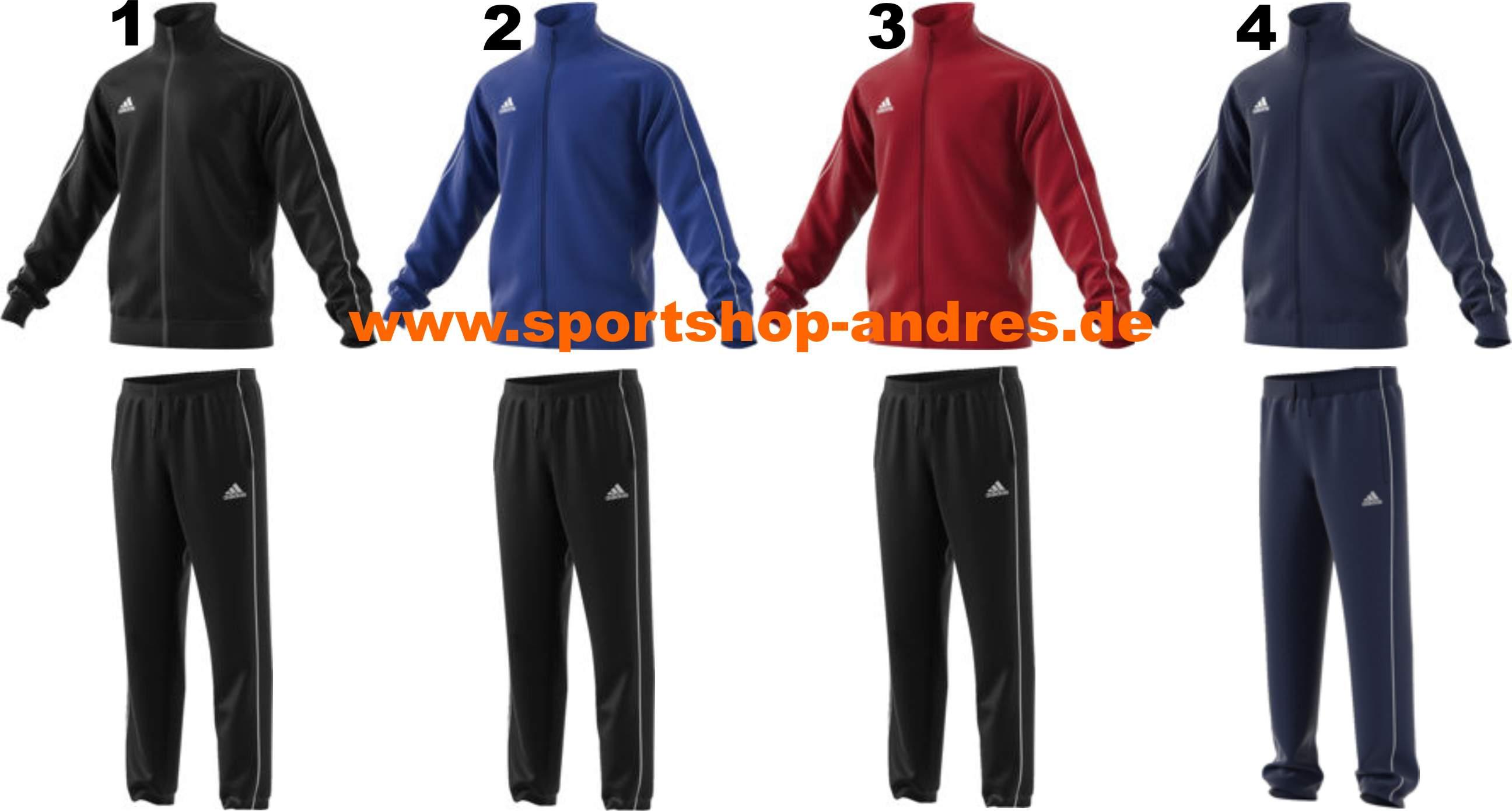 Sportshop Andres Adidas Core 18 Polyesteranzug für Kinder