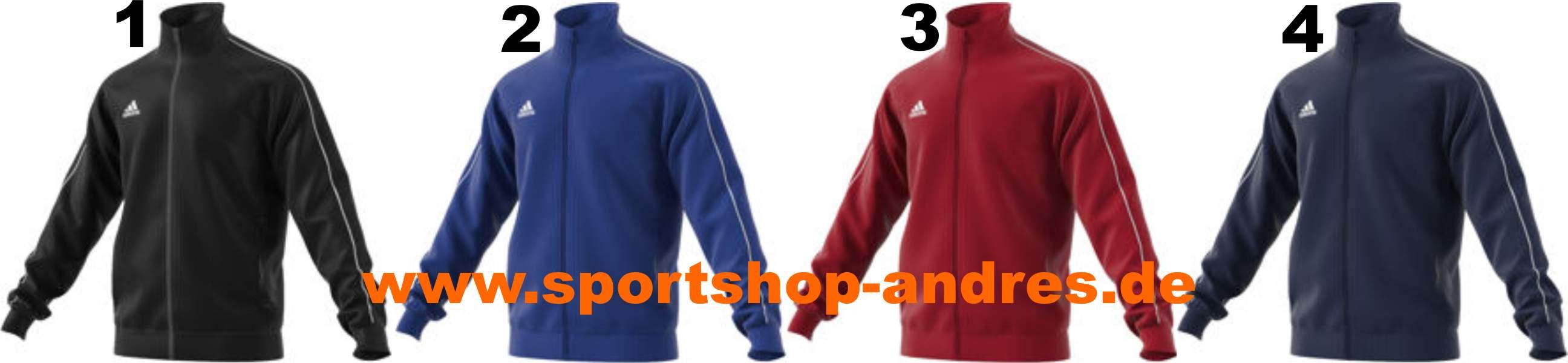 Sportshop Andres Adidas Core 18 Polyesterjacke für Kinder