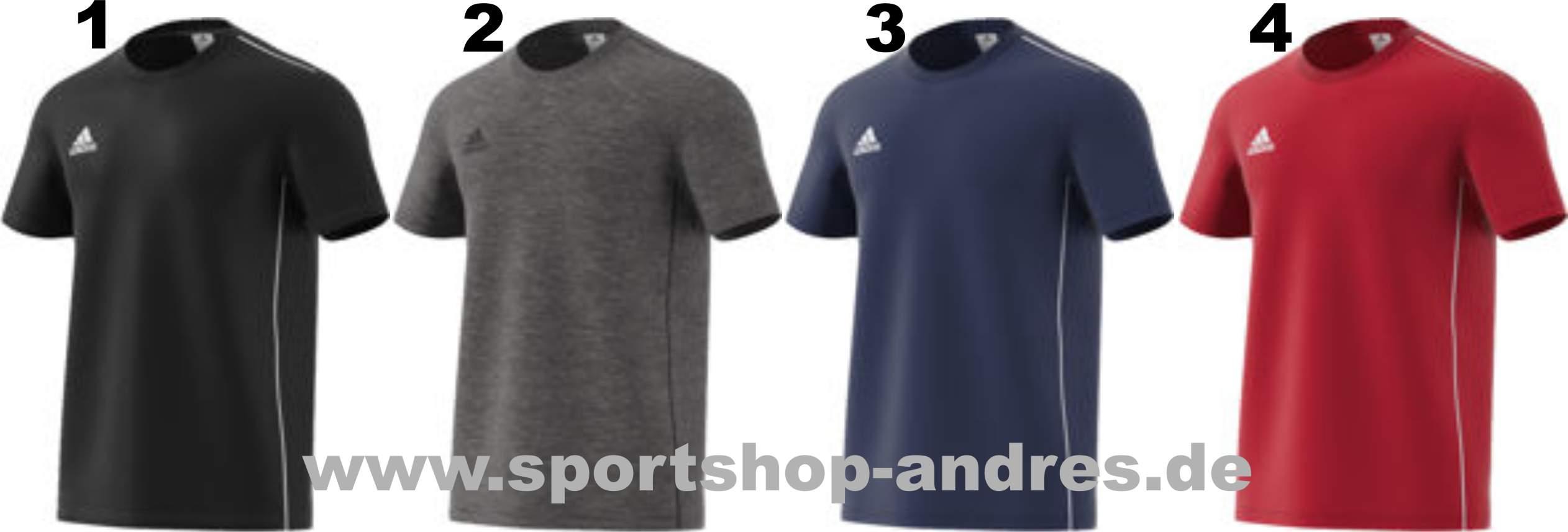 Sportshop Andres Adidas Core 18 Tee ab 11,97 Euro