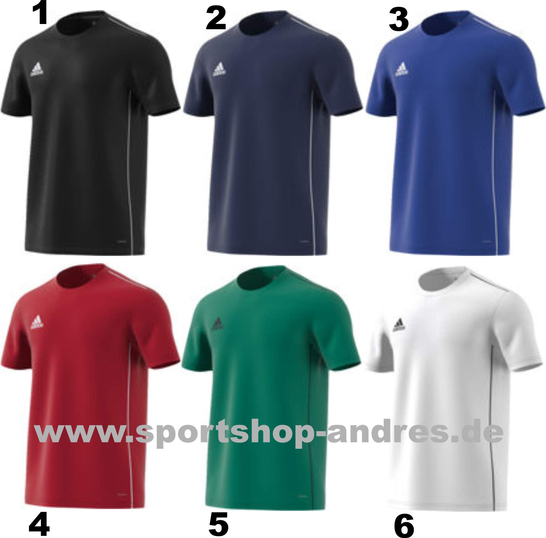 9d722fb3064 Sportshop Andres - Adidas Core 18 Training Jersey für Kinder ab 10 ...