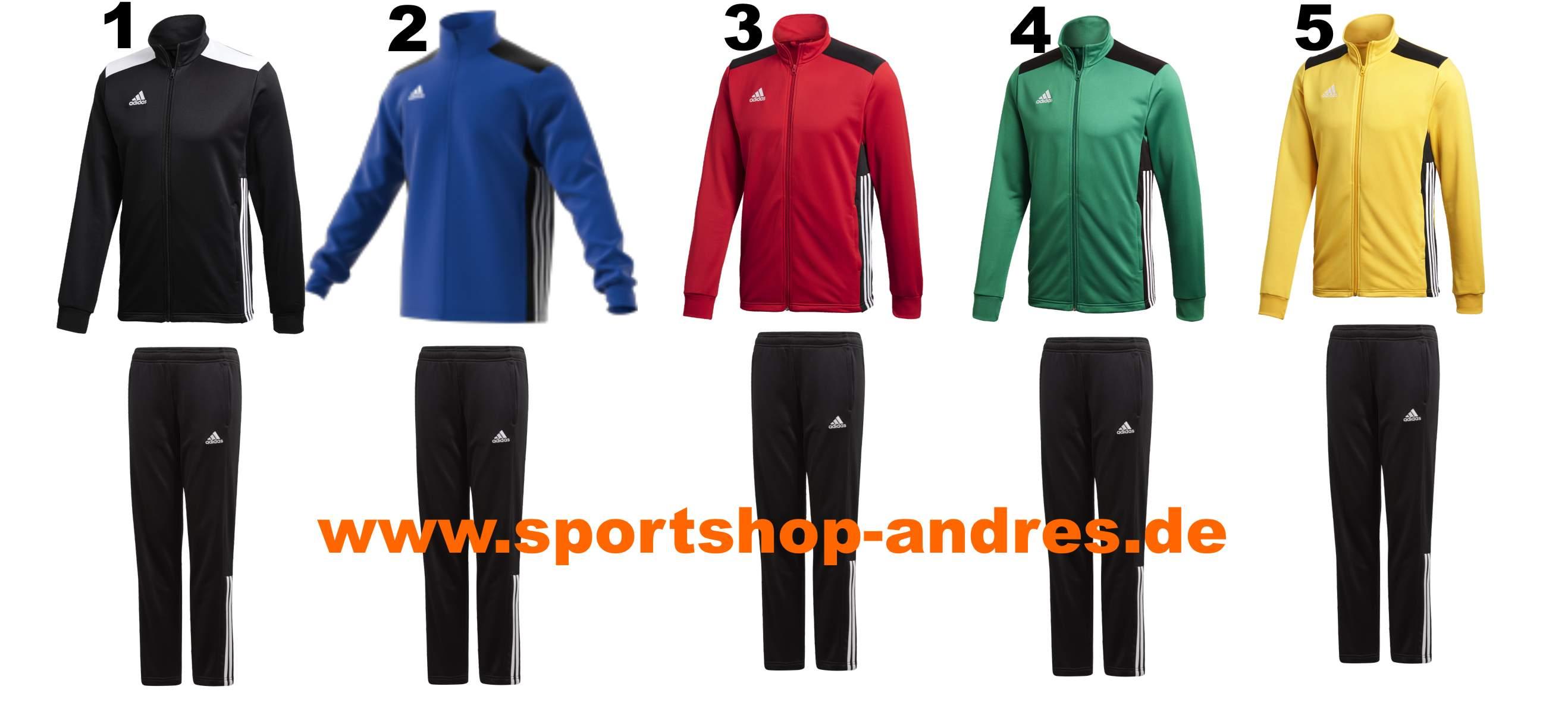 cf7bb1f1ef528f Sportshop Andres - Adidas Regista 18 Polyesteranzug schon ab 35