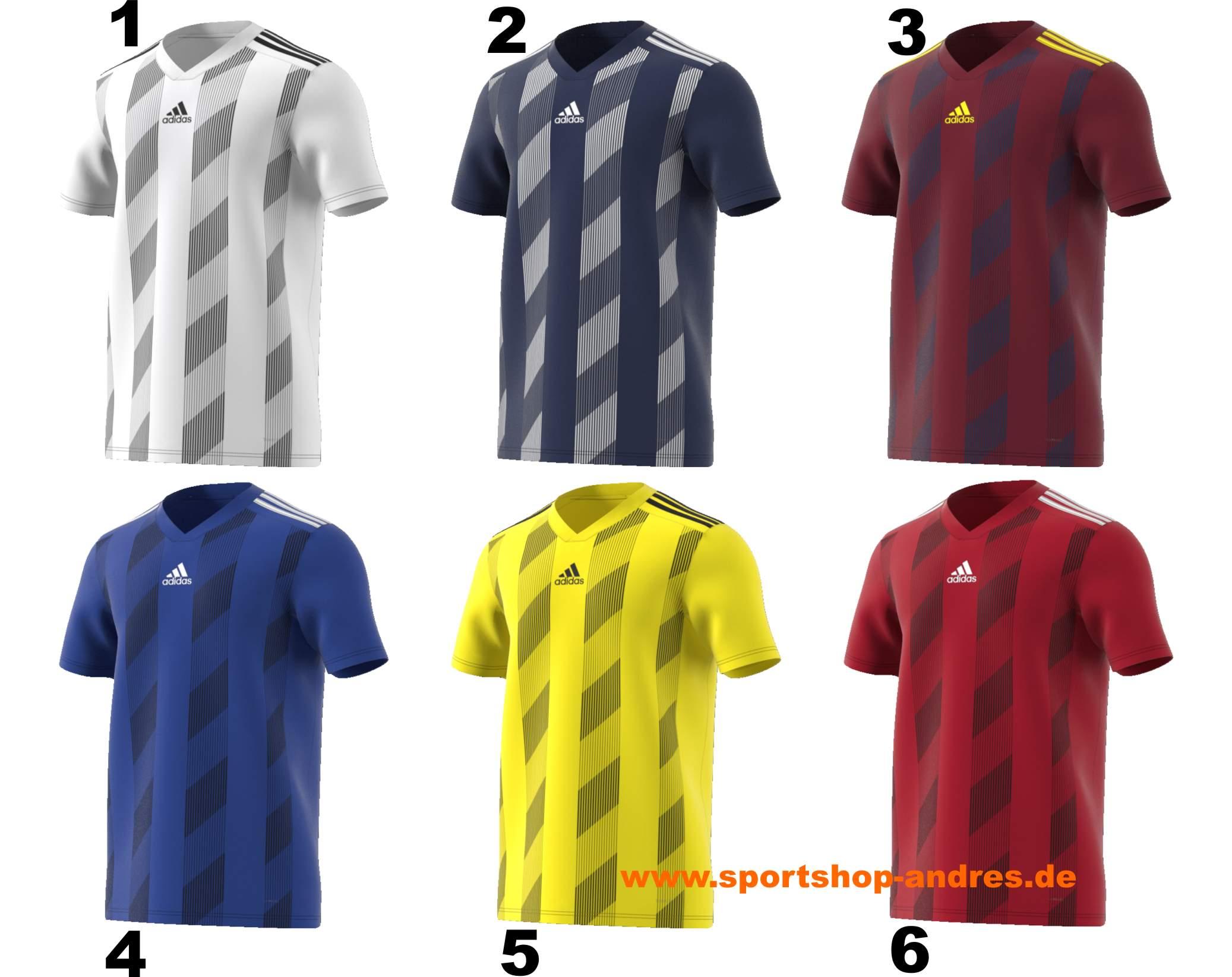 Sportshop Andres Adidas Fussballtrikot Striped 19 nur 14
