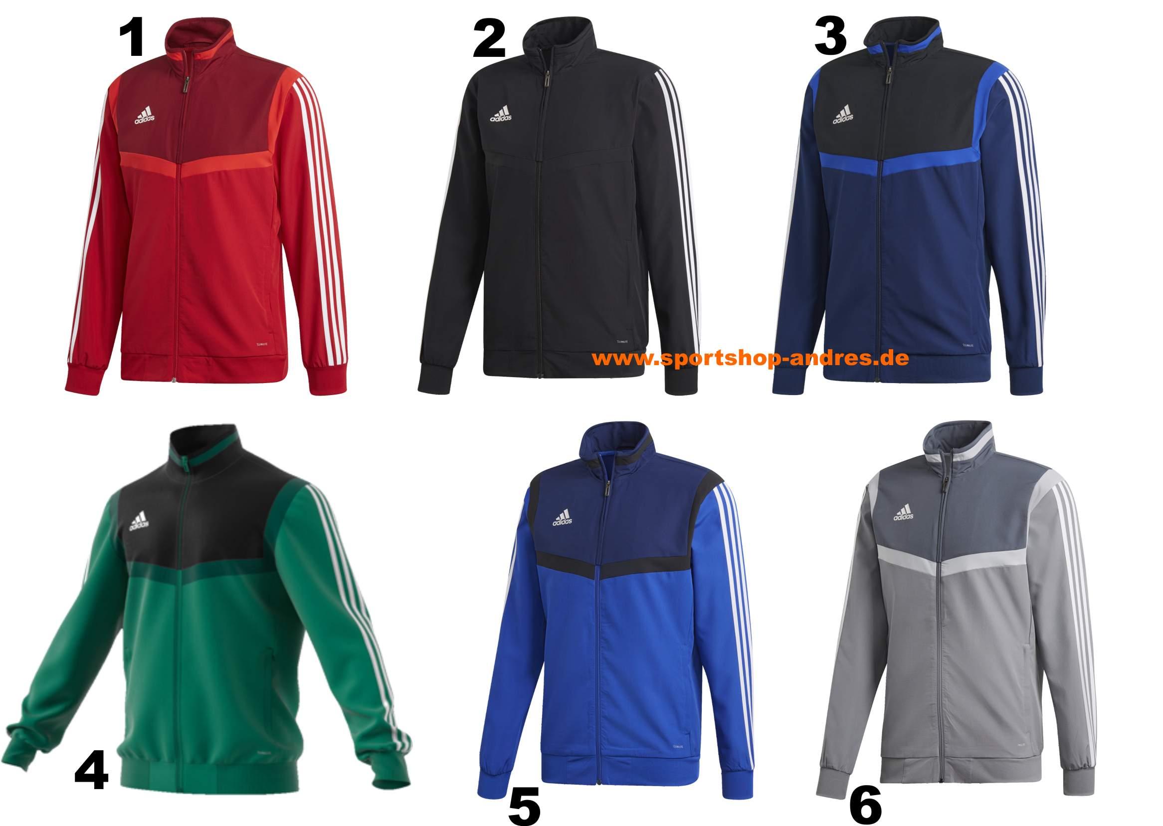 f58c9b8bf24108 Sportshop Andres - Adidas Tiro 19 Präsentationsjacke für Erwachsene ...