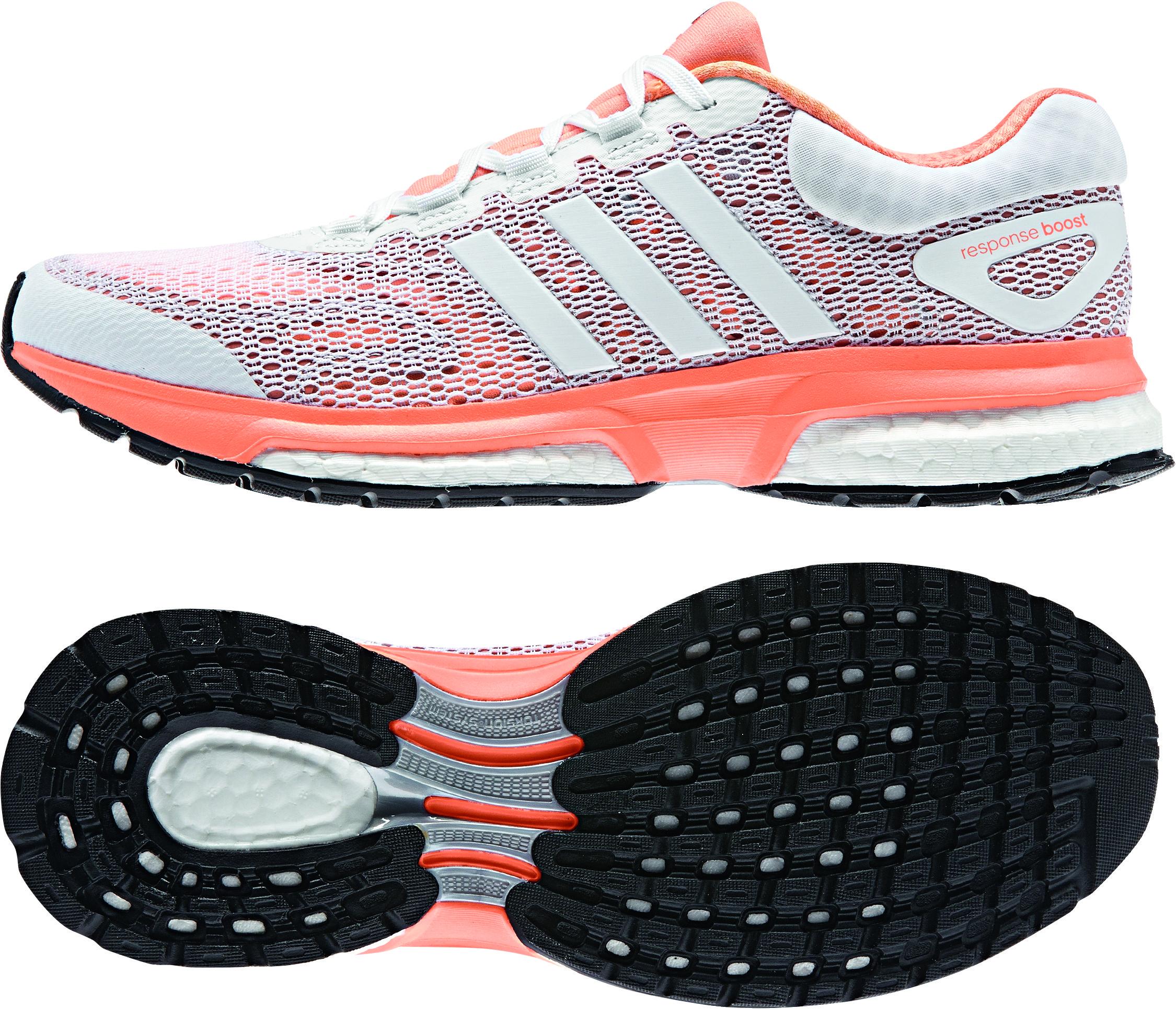 Runningschuhe Response Boost Orangewhite Adidas Women Flash dCoxBeQWr